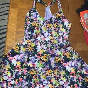 Floral Racerback Dress